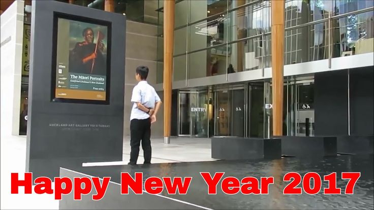 A Day In Auckland City | Happy New Year 2017