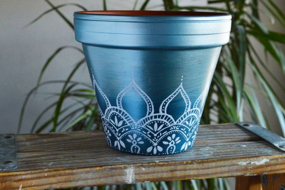 25 beste idee n over potten versieren op pinterest weckpot mason jar projecten en - Terras versieren ...