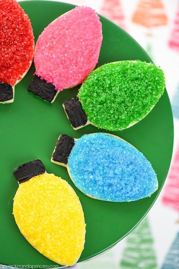 Christmas Light Sugar Cookies Recipe Best Of Pinterest
