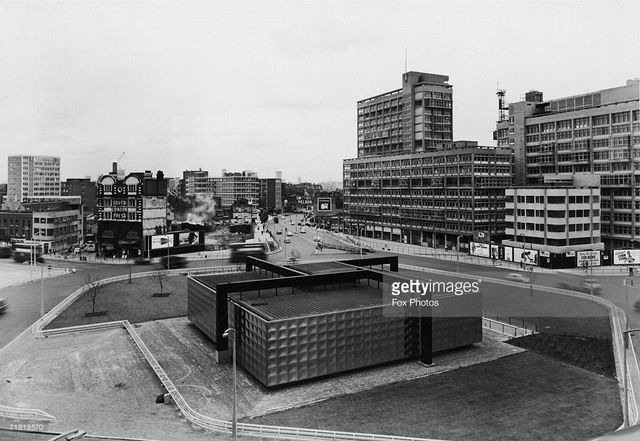 The Elephant and Castle South East London England in the 1960's