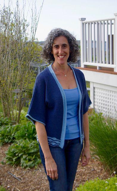 Ravelry: Azure Kimono pattern by Patty Lyons