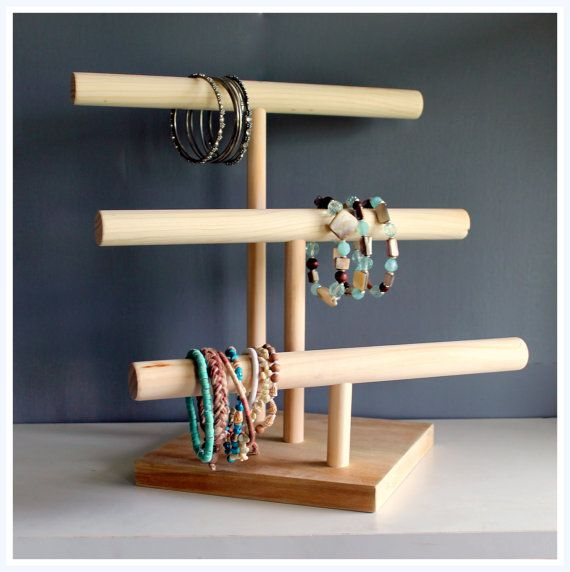 Watch Organizer & Bracelet Stand Soft door TheWoodshopsDaughter