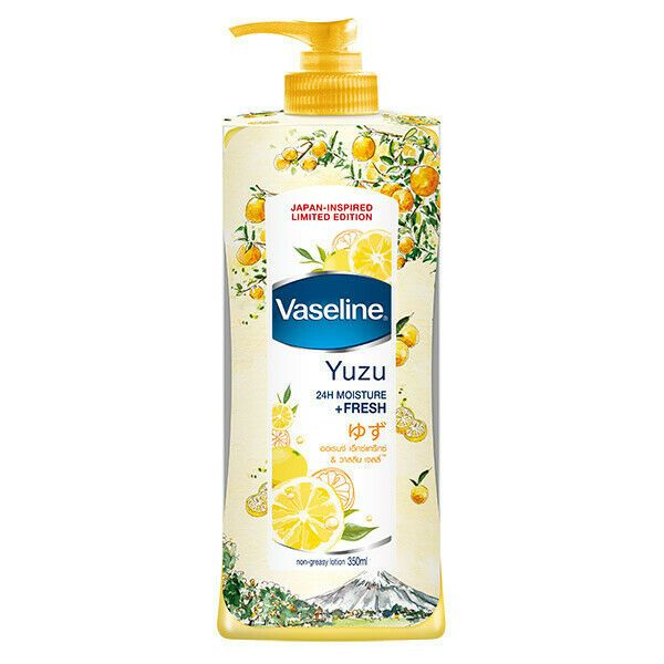 Vaseline Yuzu Body Lotion Japan Inspired Limited Edition 24 Hour