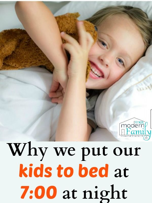 "Last week, a fellow blogger, Jackie at Happy Hooligans, shared my post about when your 3 year old is still waking at night.  When she shared my post, someone had left the comment ""Who puts their kid to bed between 6:00 & 7:00 pm?"" … so today I wanted to tell you WHY I put our kids to...Read More »"