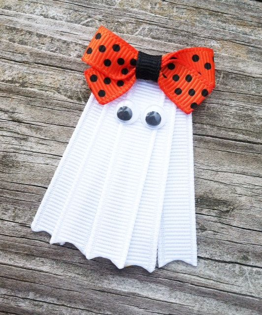 Ghost Ribbon Hair Clip