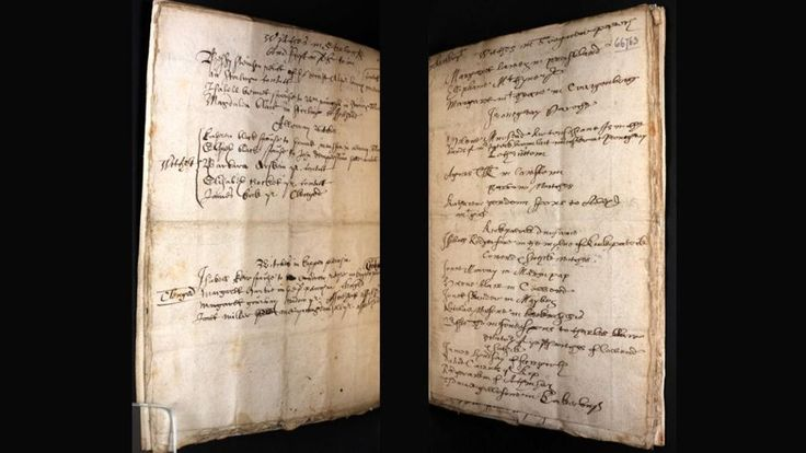 The pages of a 350-year-old book used to record the names of those accused of witchcraft in Scotland are published online.