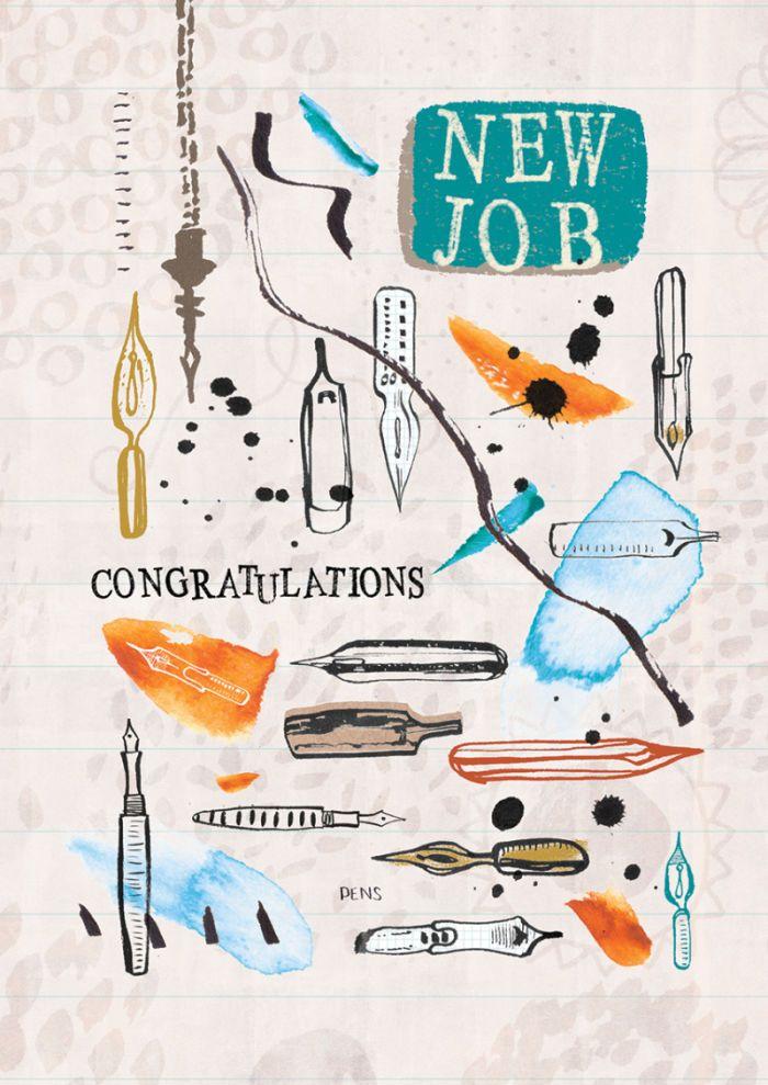 Rebecca Prinn - RP New Job Congratulations Graduation Pens