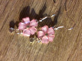 Pinky's Blog: Goede avond iedereen! De roze oorbellen zijn gewon...