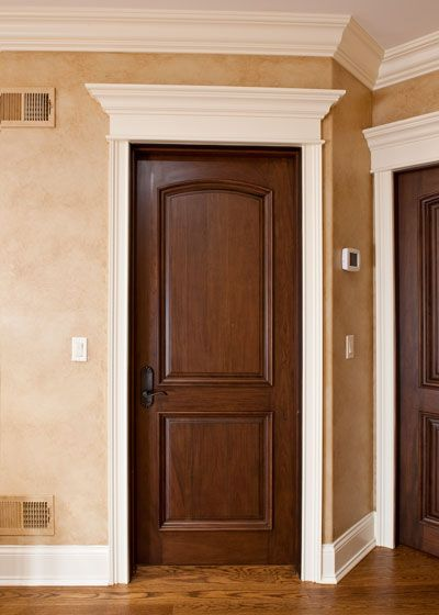 Attractive Prefinished Solid Core Interior Doors Are Good For Modern Home