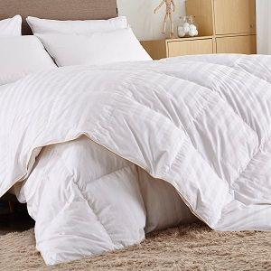 white goose down comforter set on sale choosing a comfy bedding duvet or comforter for