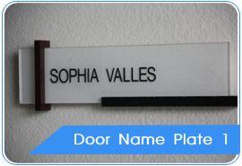 Door Name Plates, Door Name Plates Manufacturer