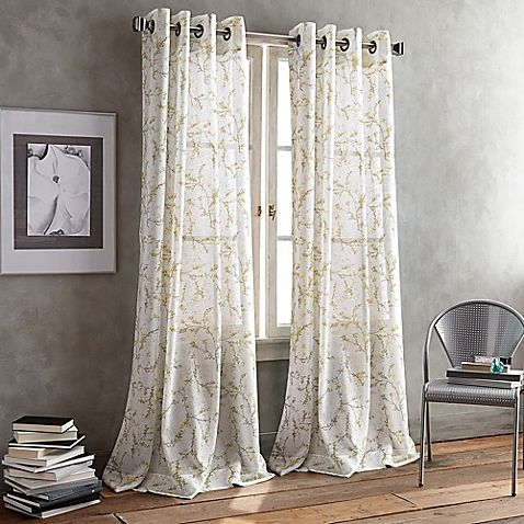 DKNY Promenade Grommet Window Curtain Panel