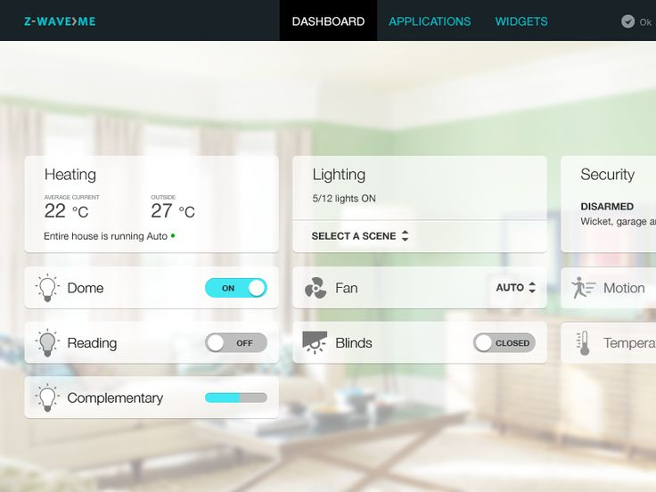 529 best UI > Home Automation images on Pinterest | User interface ...