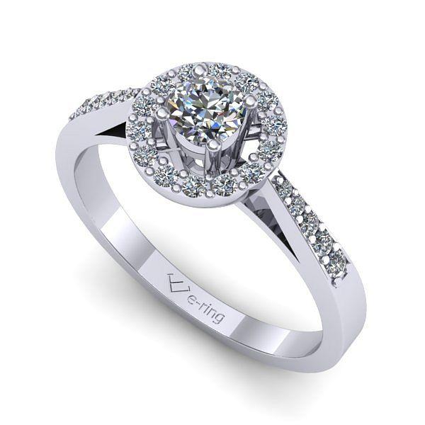 Inelul este realizat din aur alb 14k, greutate: ~3.80gr. 1 x diamant, dimensiune: ~3.70mm, greutate: 0.20ct , culoare: G, claritate: VS2, forma: round 2 x diamant, dimensiune: ~1.00mm, greutate totala: ~0.01ct, culoare: G, claritate: SI1, forma: round 16 x diamant, dimensiune: ~1.10mm, greutate totala: ~0.10ct, culoare: G, claritate: SI1, forma: round 2 x diamant, dimensiune: ~1.20mm, greutate totala: ~0.02ct, culoare: G, claritate: SI1, forma: round