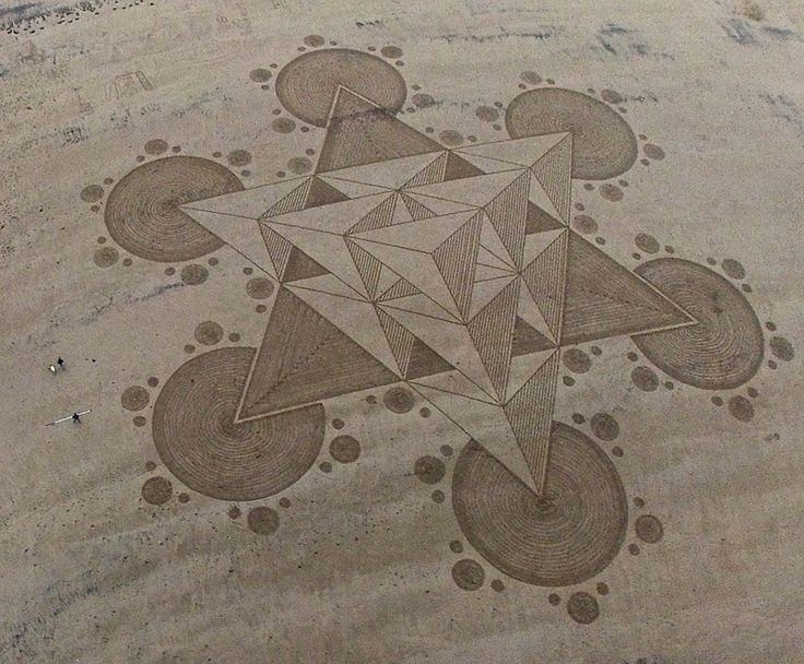 Like: metatron cube, 3D SAND CIRCLE at Brean Beach, Somerset, UK on 29th June 2013.