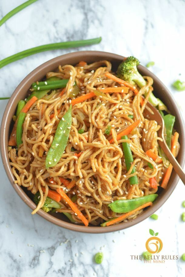 Instant Pot Vegetable Chow Mein Recipe Chow Mein Recipe