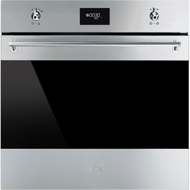 Buy Smeg SF6371X Single Built In Electric Oven - Stainless Steel | Marks Electrical
