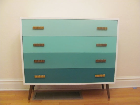 10 images about painted mid century inspiration on for Malm kommode weiay