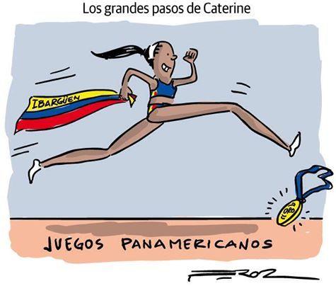 Orgullo colombiano... Katerine Ibarguen!