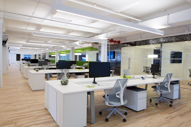 xAd - New York City Office. Designer: Design Republic. #Workstation #OfficeInterior