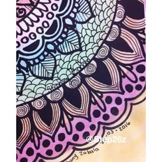 Mandala Zentangle Art Color