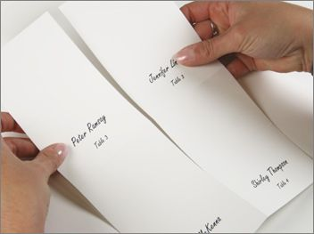 Best 25 Print Your Own Wedding Place Cards Ideas On Pinterest
