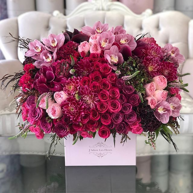 A Gorgeous New Arrival Named Fuchsia Dream For Your Fine Taste Beautiful Rose Flowers Flowers Bouquet Gift Beautiful Bouquet Of Flowers