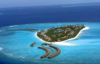 Large 5-star Maldives water villa