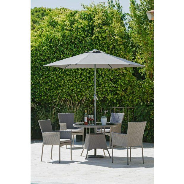 buy collection havana rattan effect 4 seater set at argoscouk your - Home And Garden Furniture Collection