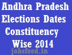 AP Elections 2014 Dates Telangana Seemandhra Constituency wise