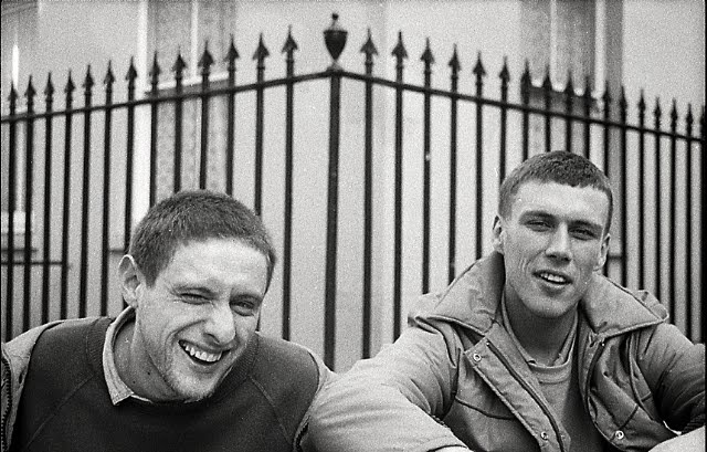 Shaun Ryder and Bez from Happy Mondays