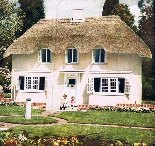 Welsh Cottage given to Princess Elizabeth on her sixth birthday in 1932 by the people of Wales. It still stands on it's original site in the grounds of Windsor Castle.