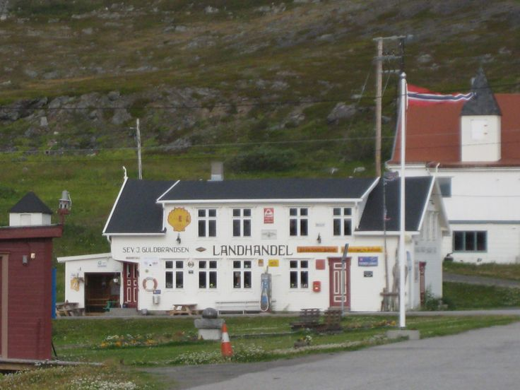 A little Village Shop. #kongsfjord