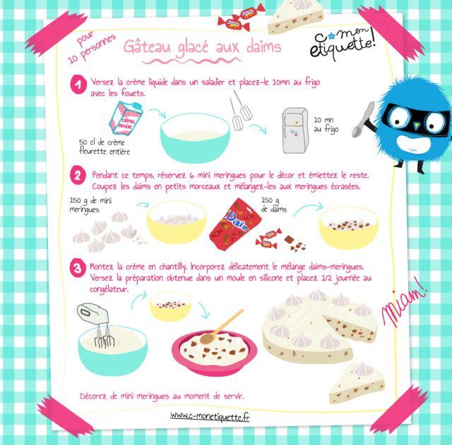 recette gâteau aux daims