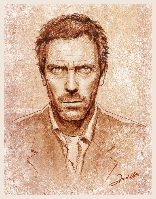 Hugh Laurie by Renato Cunha
