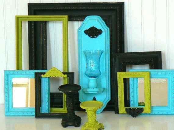 Shabby Urban Loft Frame/Sconce/Candle/Mirror Collection