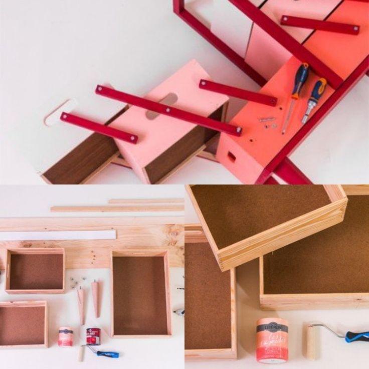 Diy fabriquer une boîte à couture pastel diy makeit boite ideedeco