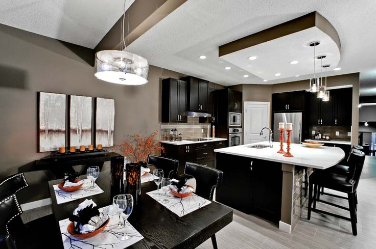 Nook in Leera Showhome in Sherwood in NW Calgary, Alberta, by Shane Homes