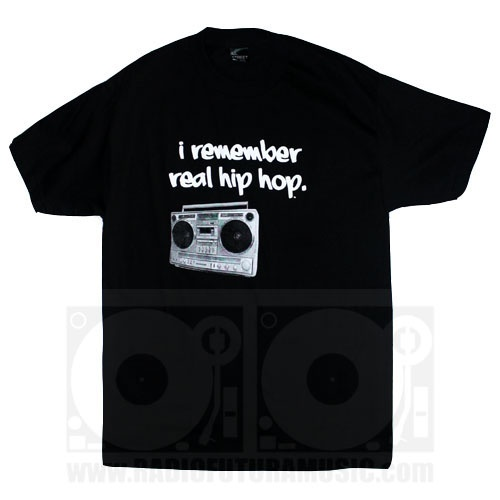 Love this! I remember real hip hop!  From ill street blues clothing