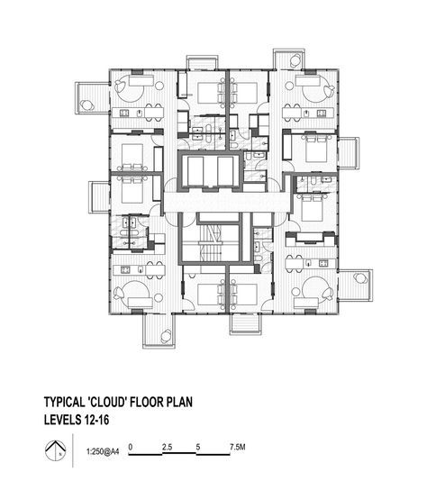 49 best residential plan images on pinterest floor plans social galeria de upper house jackson clements burrows 15 malvernweather Choice Image