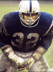 Baltimore Colts Pictures (1953-1983):  All-Pro middle linebacker Mike Curtis.