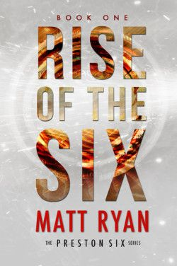 http://bit.ly/1JX3J6D -        Rise of the Six by Matt Ryan   Joey Foust has no idea he's a wanted man and his parents aim to keep it that way. They raised him as a normal boy in a small American town, hoping he and his friends don't discover what lies beyond. And for eighteen years, they succeed. Joey and his friends, the Preston Six, were all born on the same day, but soon come to find they have much more in common than a simple birthdate. Details of their past