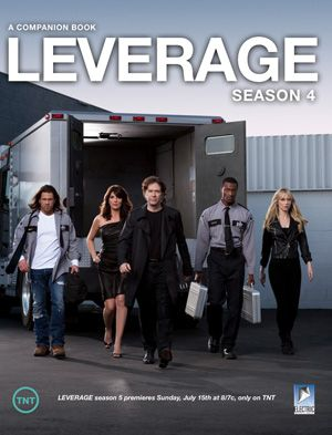 """It doesn't always take a massive marketing budget and team to produce a second screen experience for a scripted show. TNT's Leverage, which recently began it's fifth season, has become """"the first major TV series to do a behind-the scenes episode guide as an iBooks Author title"""""""