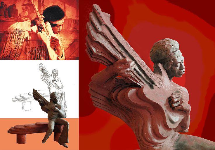 Strona prezentuje prace rzeźbiarskie artystów Agnieszki Świerzowicz- Maślaniec  i Marka Maślańca