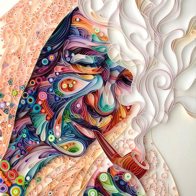 The Art Of Quilling - Yulia Brodskaya