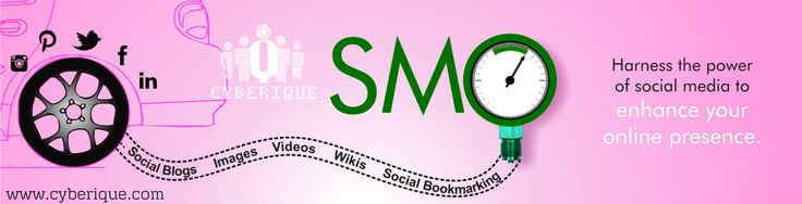 #SMO_Services –  #Cyberique one of the best #Social #Media company around offering social media services which generates targeted traffic and give you good ROI. Contact Us today.. See more: http://www.cyberique.com/smo-service.php