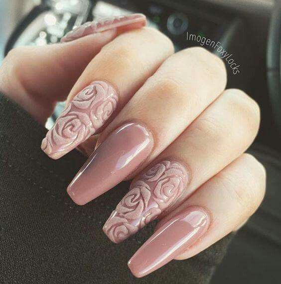 Best 25 3d flower nails ideas on pinterest 3d nail art 3d 3d rose nails prinsesfo Image collections