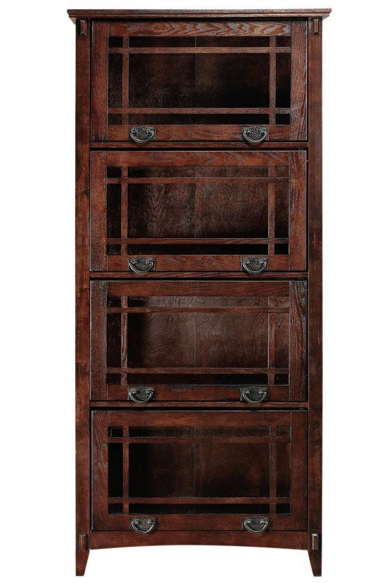 fabric storage - artisan 4 unit barrister bookcase