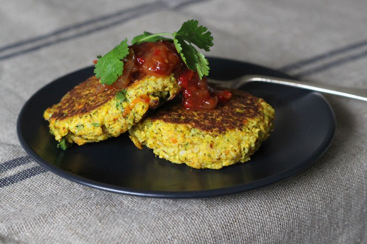 Vegetarian Fritters with Quinoa - The Holistic Ingredient