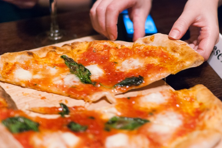 Pizza Margherita from The Pizza Pilgrims in London - this looks amazing! Has anyone been here??